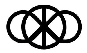 peace symbol over infinity symbol