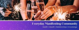 Manifesting Facebook Group Cover Image