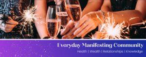 Everyday Manifesting Facebook Group Image