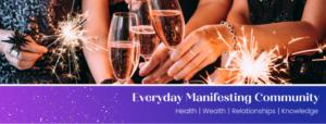 Everyday Manifesting Community Facebook Group Header